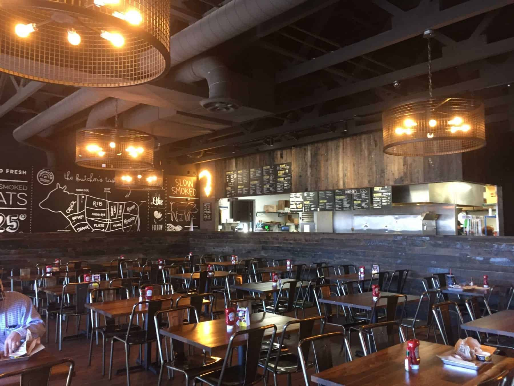 Dickey's Barbecue Pit Interior Side Renovation by JFA Construction LLC